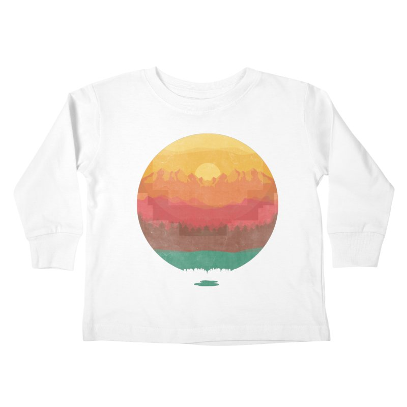 Layers Of Nature Kids Toddler Longsleeve T-Shirt by adilsiddiqui's Artist Shop