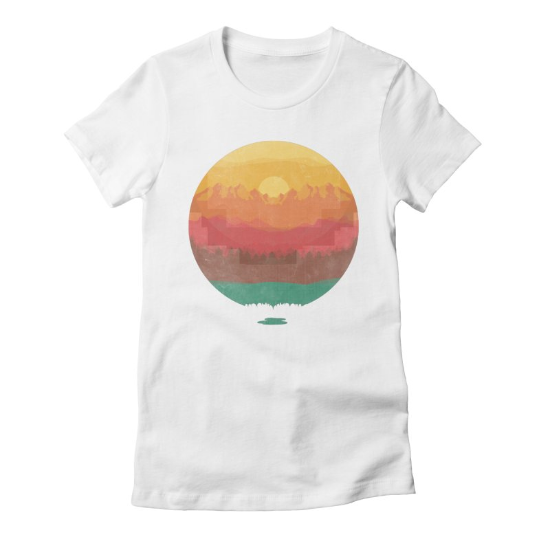 Layers Of Nature Women's Fitted T-Shirt by adilsiddiqui's Artist Shop