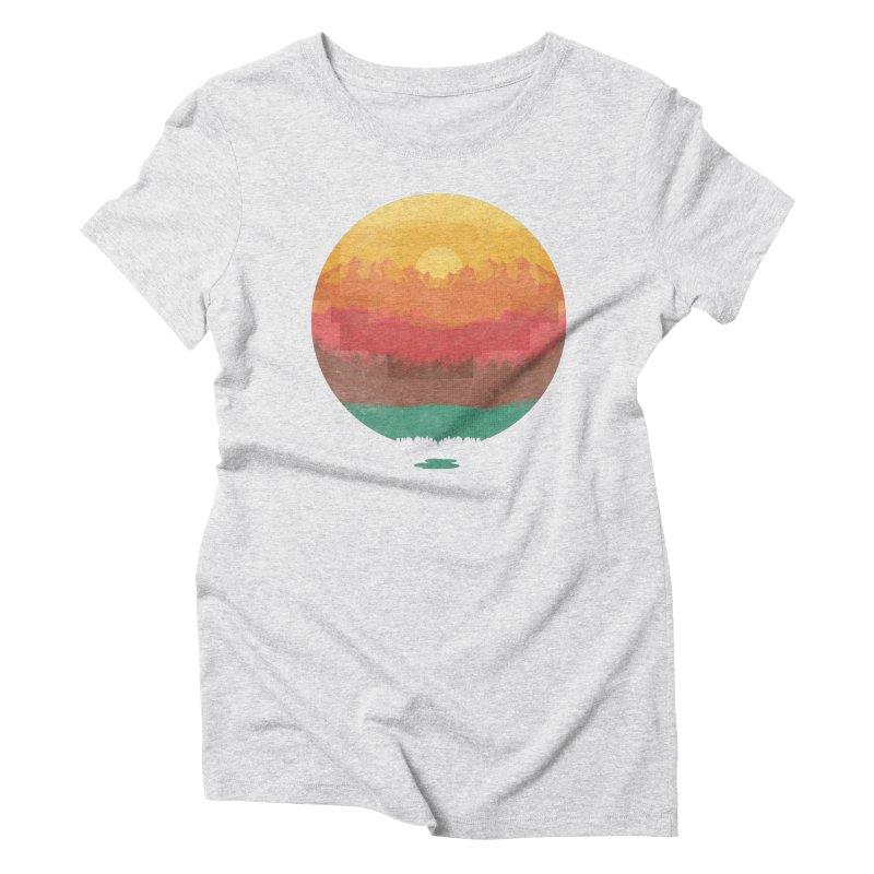 Layers Of Nature Women's Triblend T-Shirt by adilsiddiqui's Artist Shop