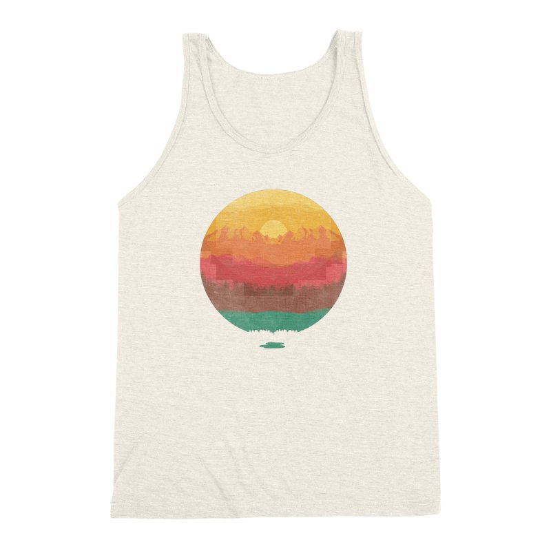 Layers Of Nature Men's Triblend Tank by adilsiddiqui's Artist Shop