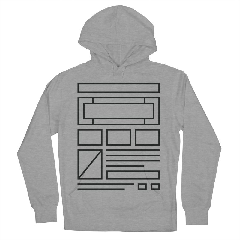 Wireframe Men's Pullover Hoody by adilsiddiqui's Artist Shop