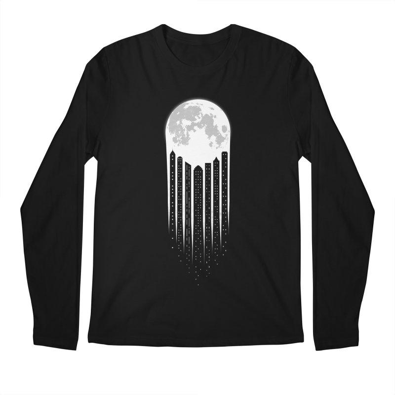 Moon City Men's Longsleeve T-Shirt by adilsiddiqui's Artist Shop