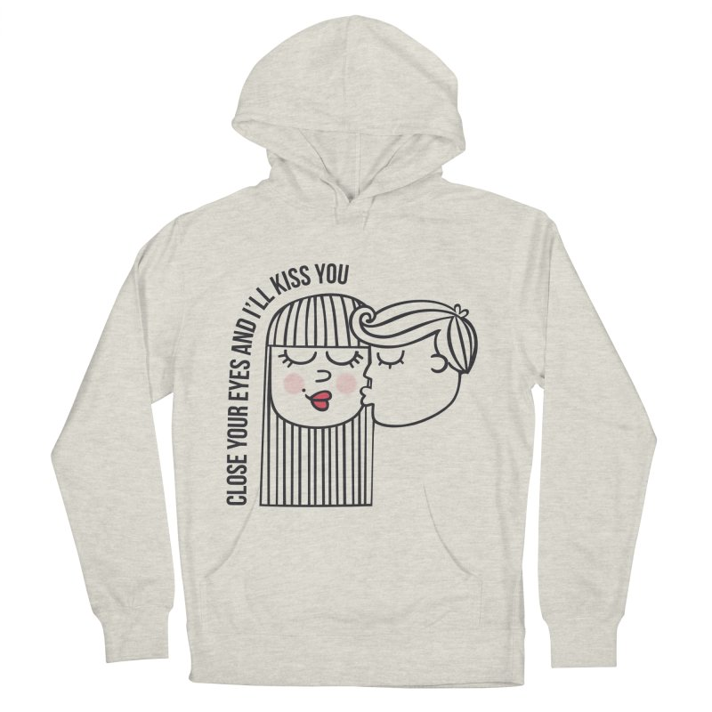 Close your eyes Men's Pullover Hoody by adrianachionetti's Artist Shop