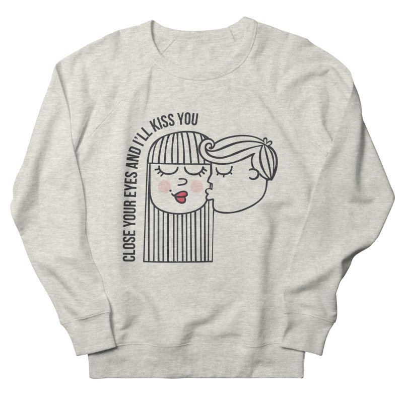 Close your eyes Women's Sweatshirt by adrianachionetti's Artist Shop