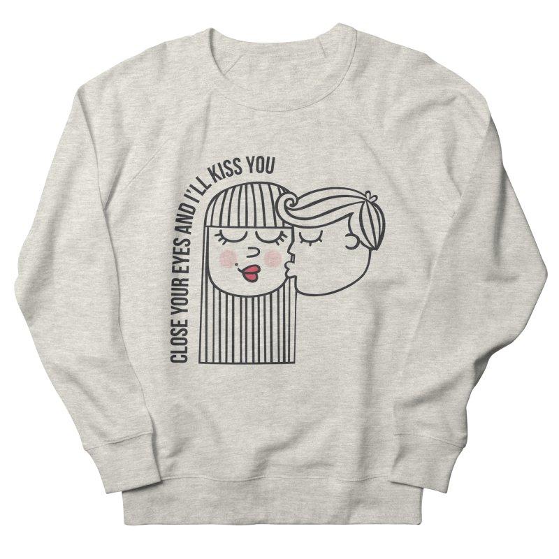 Close your eyes Men's Sweatshirt by adrianachionetti's Artist Shop