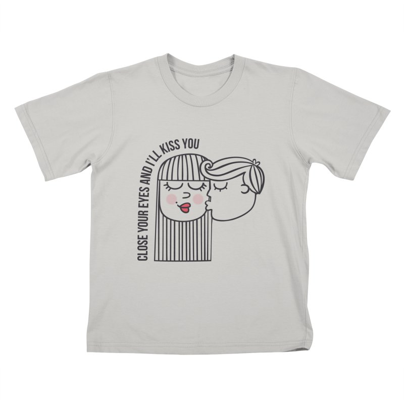 Close your eyes Kids T-shirt by adrianachionetti's Artist Shop