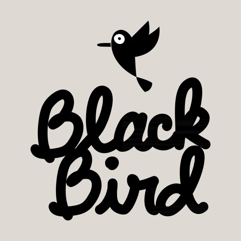 Black Bird None  by adrianachionetti's Artist Shop