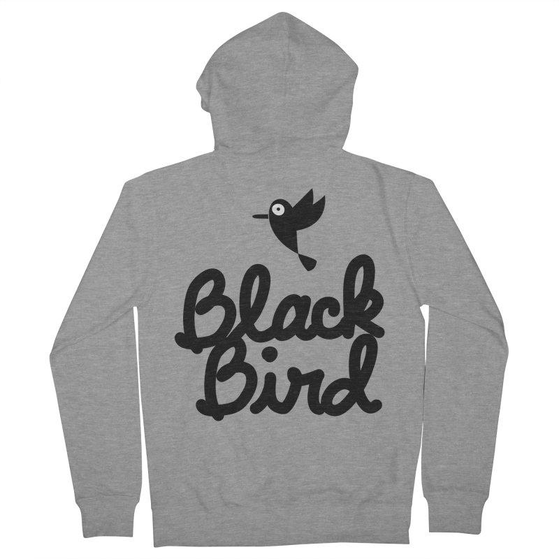 Black Bird Women's Zip-Up Hoody by adrianachionetti's Artist Shop