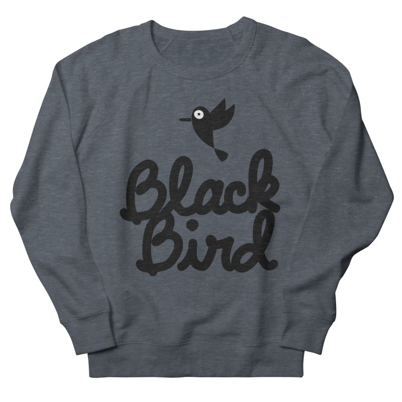 Black Bird Women's Sweatshirt by adrianachionetti's Artist Shop