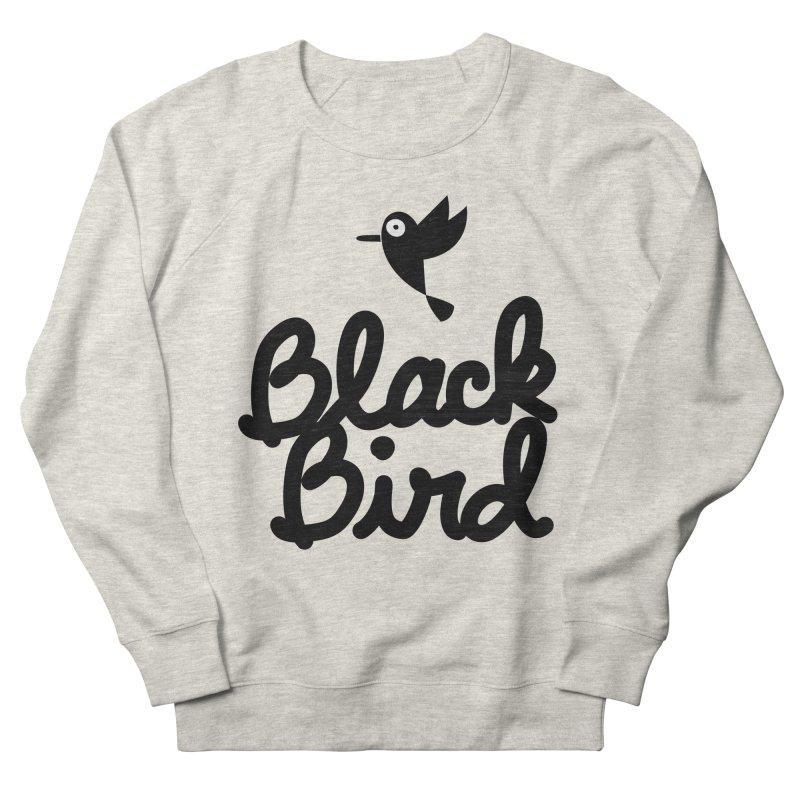 Black Bird Women's Sweatshirt by adrianachionetti's Artist Shop