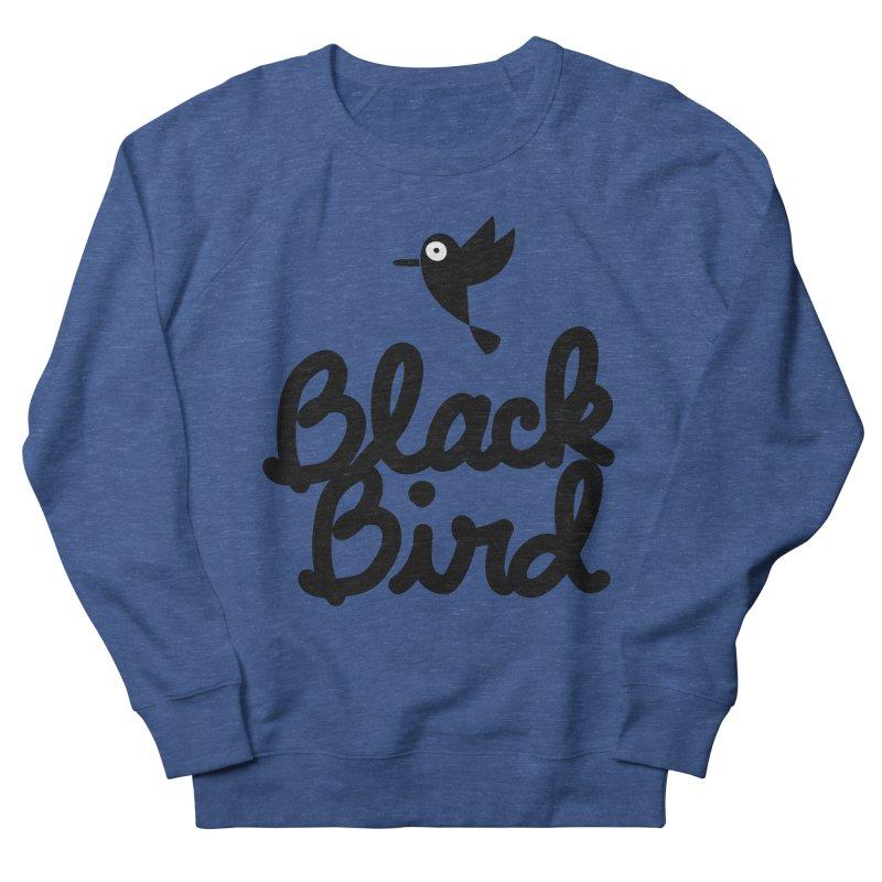 Black Bird Men's Sweatshirt by adrianachionetti's Artist Shop