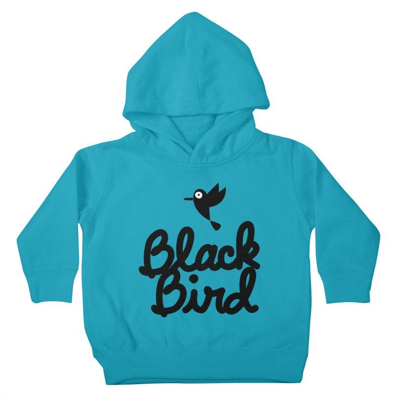 Black Bird Kids Toddler Pullover Hoody by adrianachionetti's Artist Shop