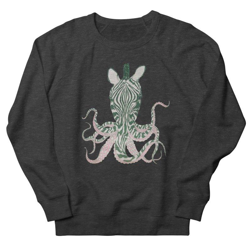 Zebropus Men's Sweatshirt by Adrian Geary's Artist Shop