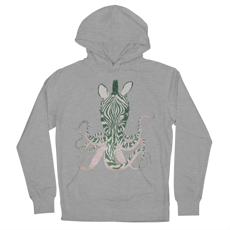 Zebropus Men's Pullover Hoody by Adrian Geary's Artist Shop