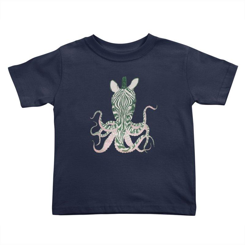 Zebropus Kids Toddler T-Shirt by Adrian Geary's Artist Shop