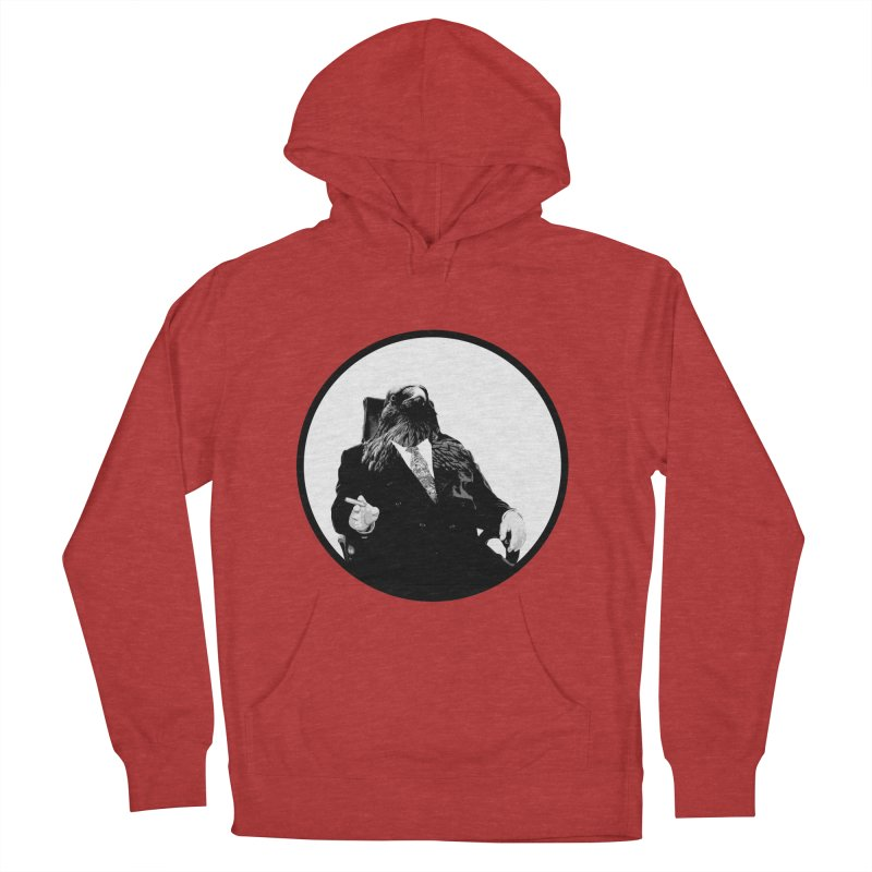 Don Crow Men's Pullover Hoody by Adrian Geary's Artist Shop