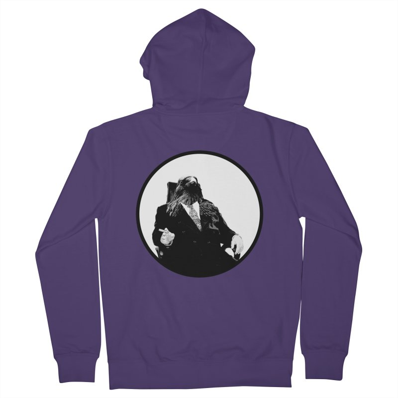 Don Crow Women's Zip-Up Hoody by Adrian Geary's Artist Shop