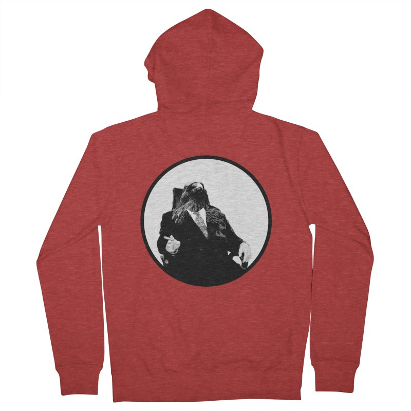 Don Crow Men's Zip-Up Hoody by Adrian Geary's Artist Shop