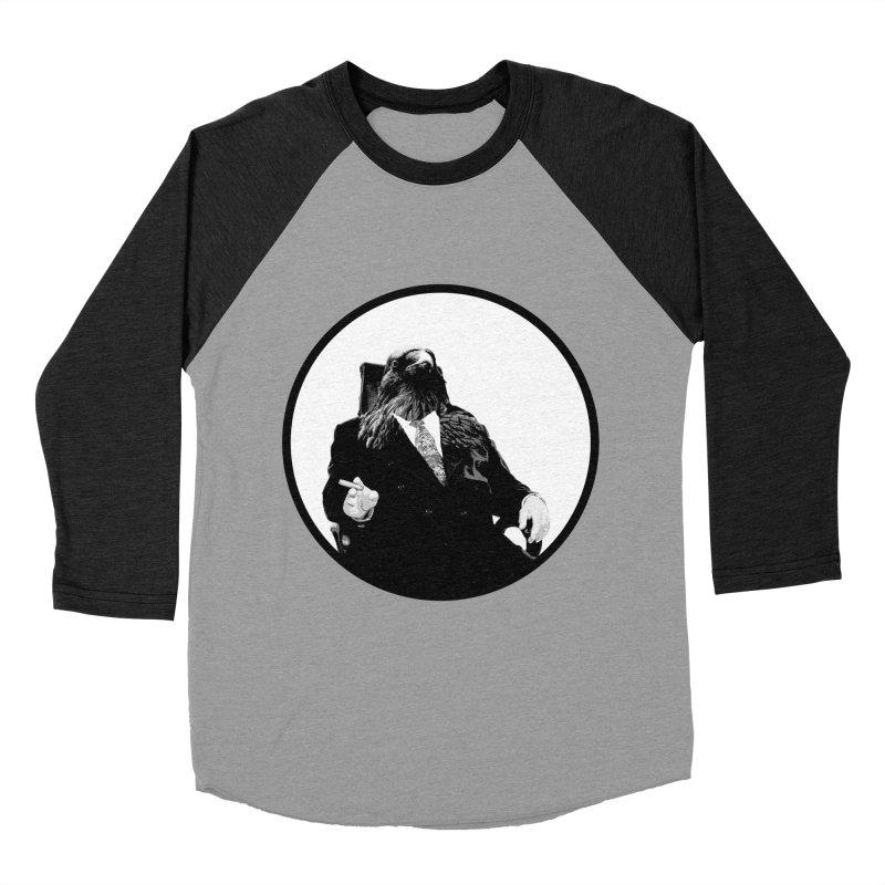 Don Crow Women's Baseball Triblend T-Shirt by Adrian Geary's Artist Shop