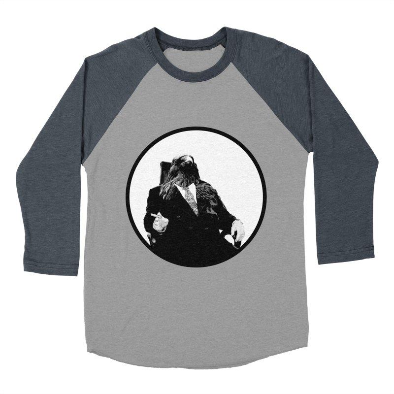 Don Crow Men's Baseball Triblend T-Shirt by Adrian Geary's Artist Shop