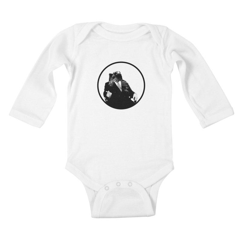 Don Crow Kids Baby Longsleeve Bodysuit by Adrian Geary's Artist Shop