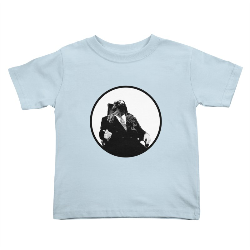 Don Crow Kids Toddler T-Shirt by Adrian Geary's Artist Shop
