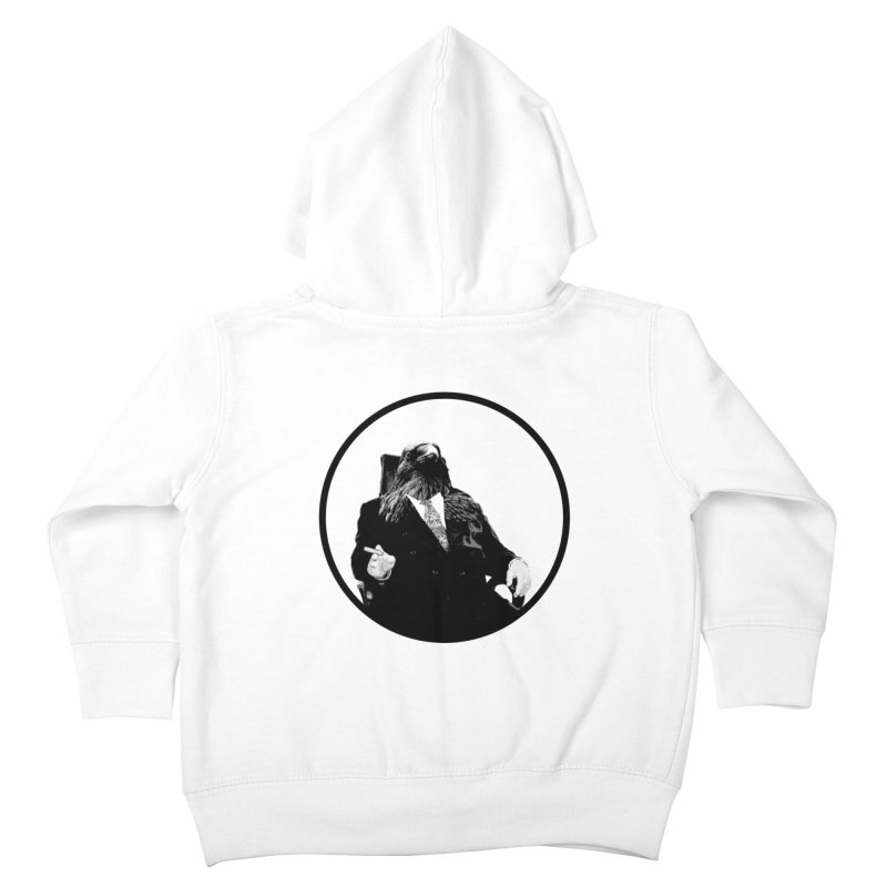Don Crow Kids Toddler Zip-Up Hoody by Adrian Geary's Artist Shop