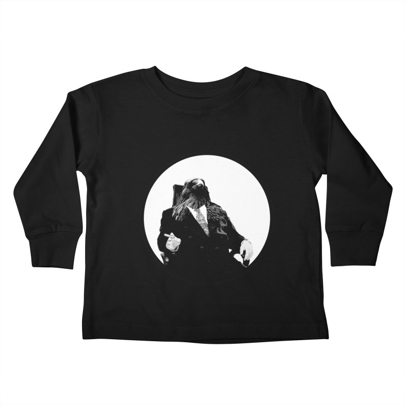 Don Crow Kids Toddler Longsleeve T-Shirt by Adrian Geary's Artist Shop