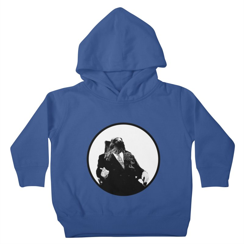 Don Crow Kids Toddler Pullover Hoody by Adrian Geary's Artist Shop
