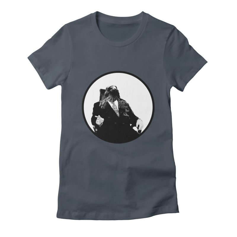 Don Crow Women's Fitted T-Shirt by Adrian Geary's Artist Shop