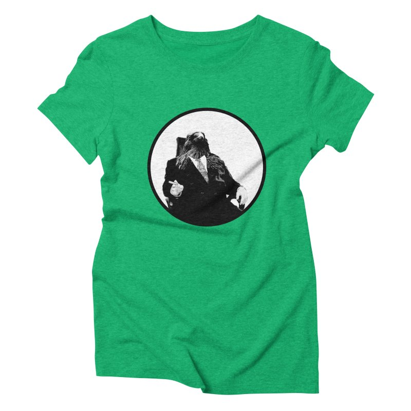 Don Crow Women's Triblend T-shirt by Adrian Geary's Artist Shop
