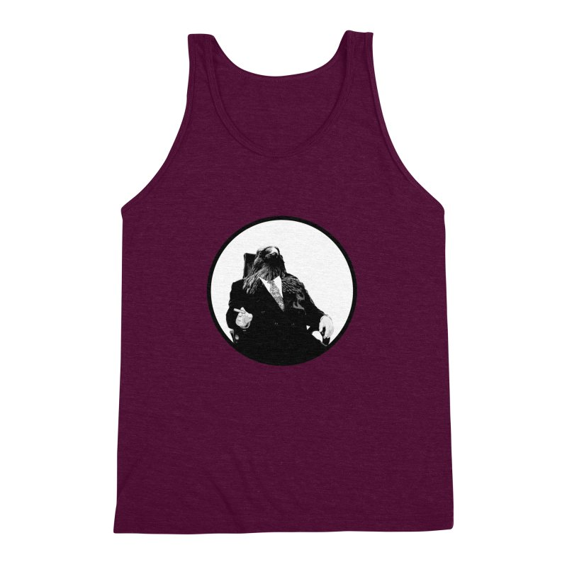 Don Crow Men's Triblend Tank by Adrian Geary's Artist Shop