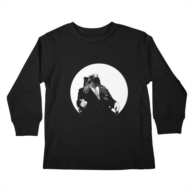 Don Crow Kids Longsleeve T-Shirt by Adrian Geary's Artist Shop