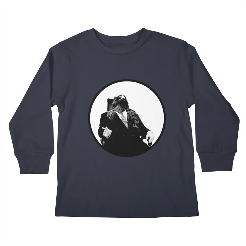 Don Crow Kids Longsleeve T-Shirt by Adrian Geary's Artist Shop