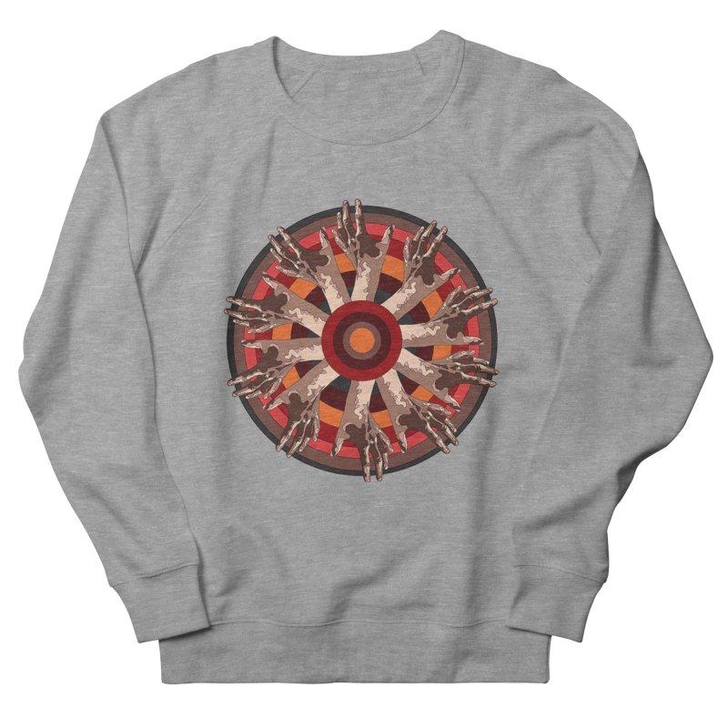 Mandala Hands Men's Sweatshirt by Adrian Geary's Artist Shop