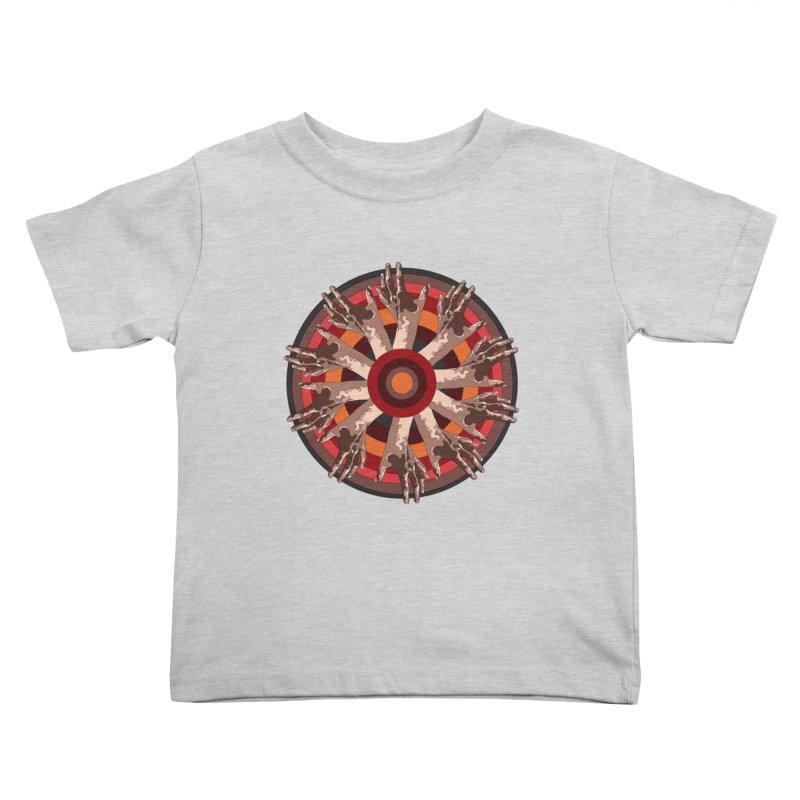 Mandala Hands Kids Toddler T-Shirt by Adrian Geary's Artist Shop