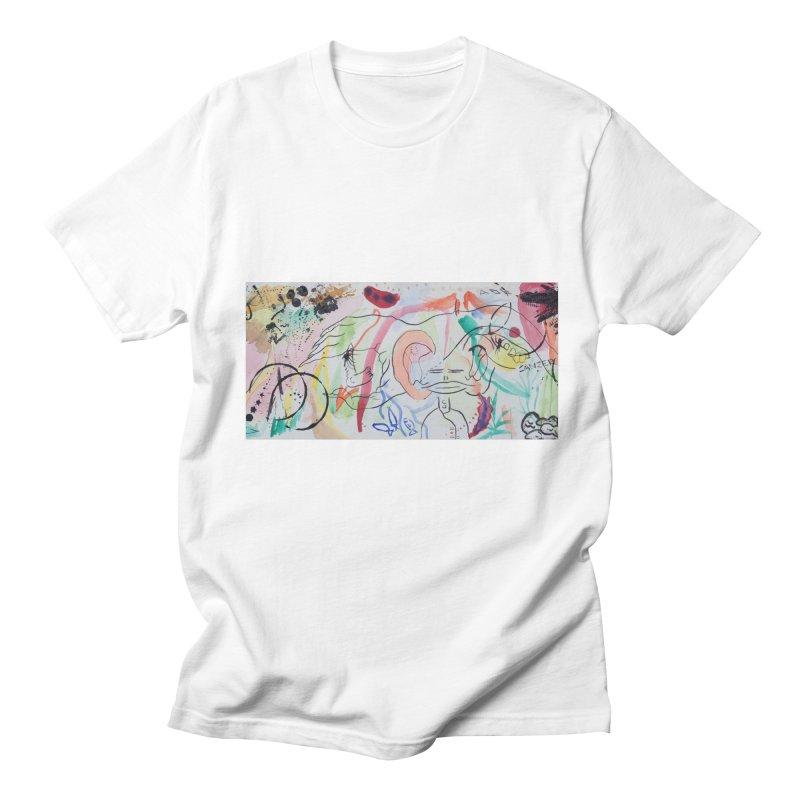 Ink Ear Men's T-Shirt by Adrian Geary's Artist Shop