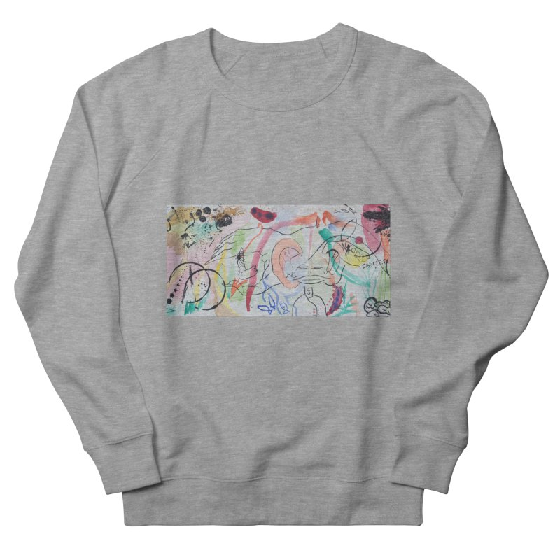 Ink Ear Women's Sweatshirt by Adrian Geary's Artist Shop