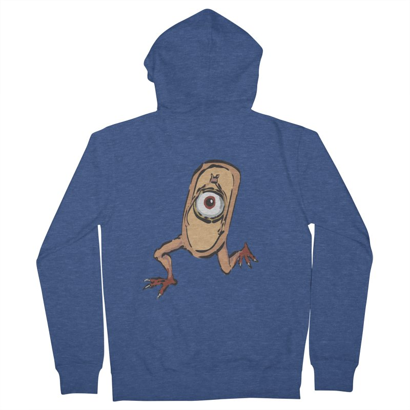 Sandal Yokai Women's French Terry Zip-Up Hoody by Adrian Geary's Artist Shop