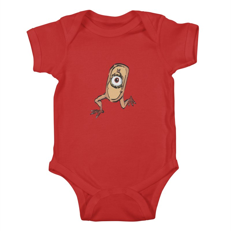 Sandal Yokai Kids Baby Bodysuit by Adrian Geary's Artist Shop