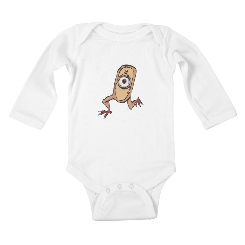 Sandal Yokai Kids Baby Longsleeve Bodysuit by Adrian Geary's Artist Shop
