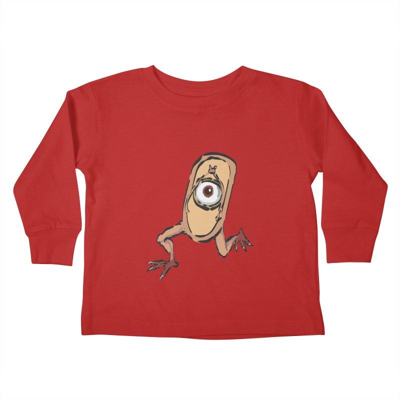 Sandal Yokai Kids Toddler Longsleeve T-Shirt by Adrian Geary's Artist Shop