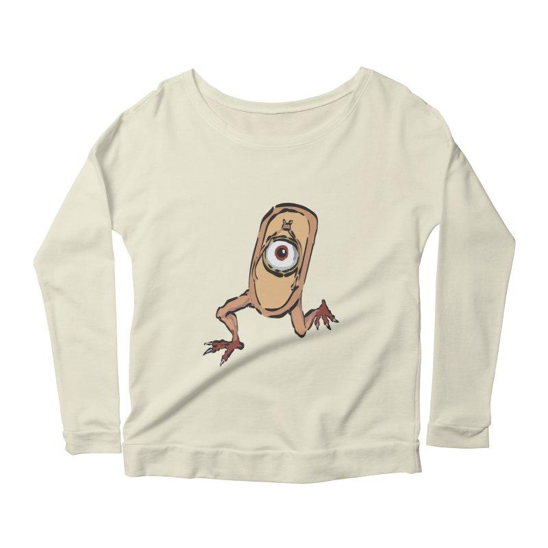 Sandal Yokai Women's Scoop Neck Longsleeve T-Shirt by Adrian Geary's Artist Shop