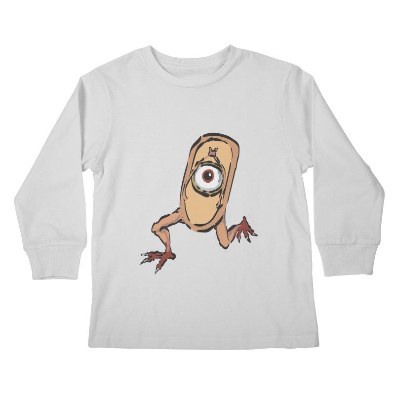 Sandal Yokai Kids Longsleeve T-Shirt by Adrian Geary's Artist Shop