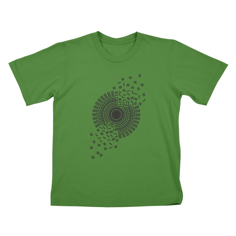 Duplication...ation...ation Kids T-Shirt by Adrian Geary's Artist Shop