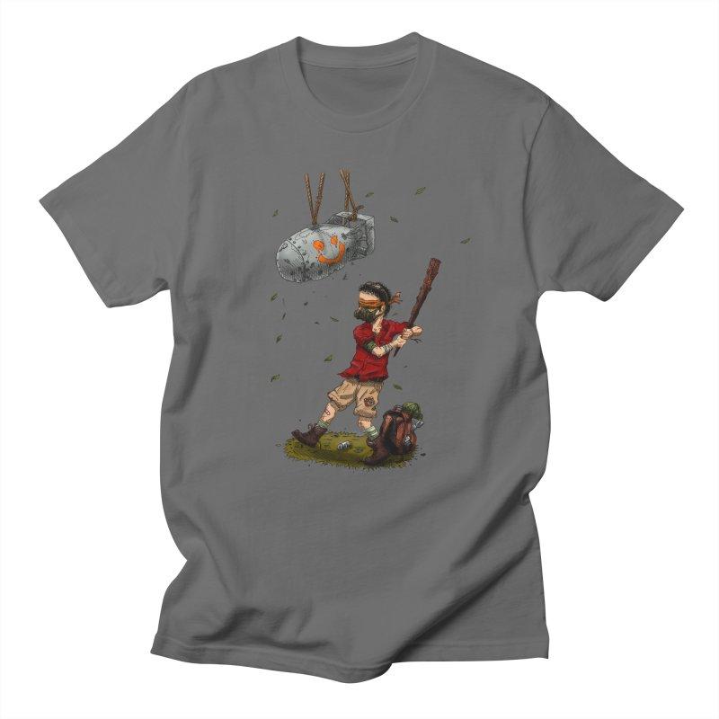 Atomic Piñata Men's T-shirt by adrianinked's Artist Shop