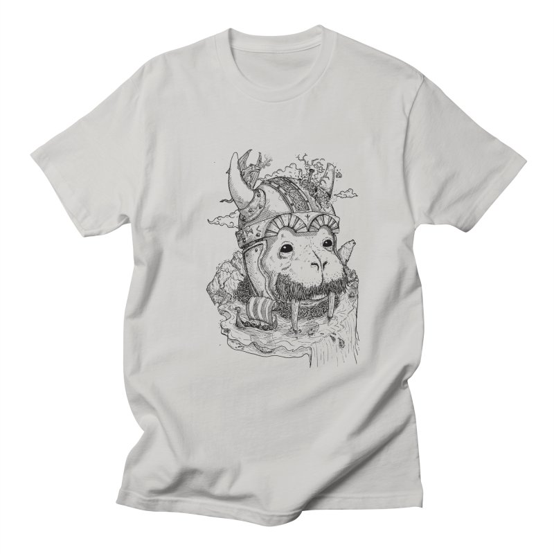 Walrus Saga Men's T-Shirt by adrianinked's Artist Shop