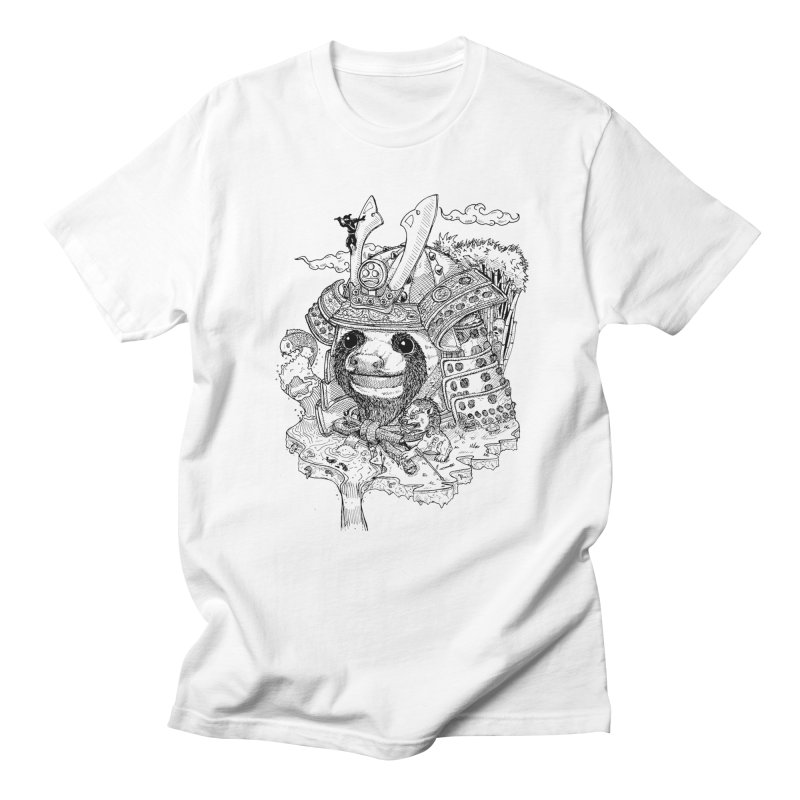 Sloth Dynasty  Men's T-shirt by adrianinked's Artist Shop