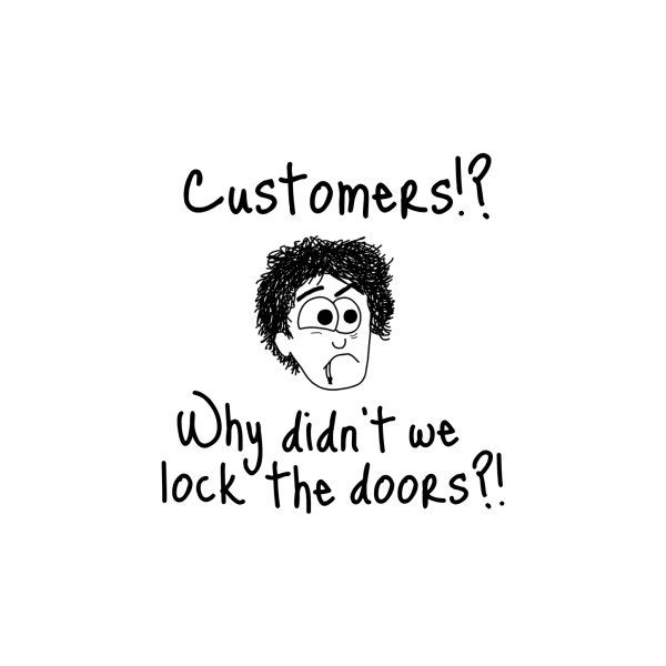 image for Black Books - Why didn't we lock the doors?!
