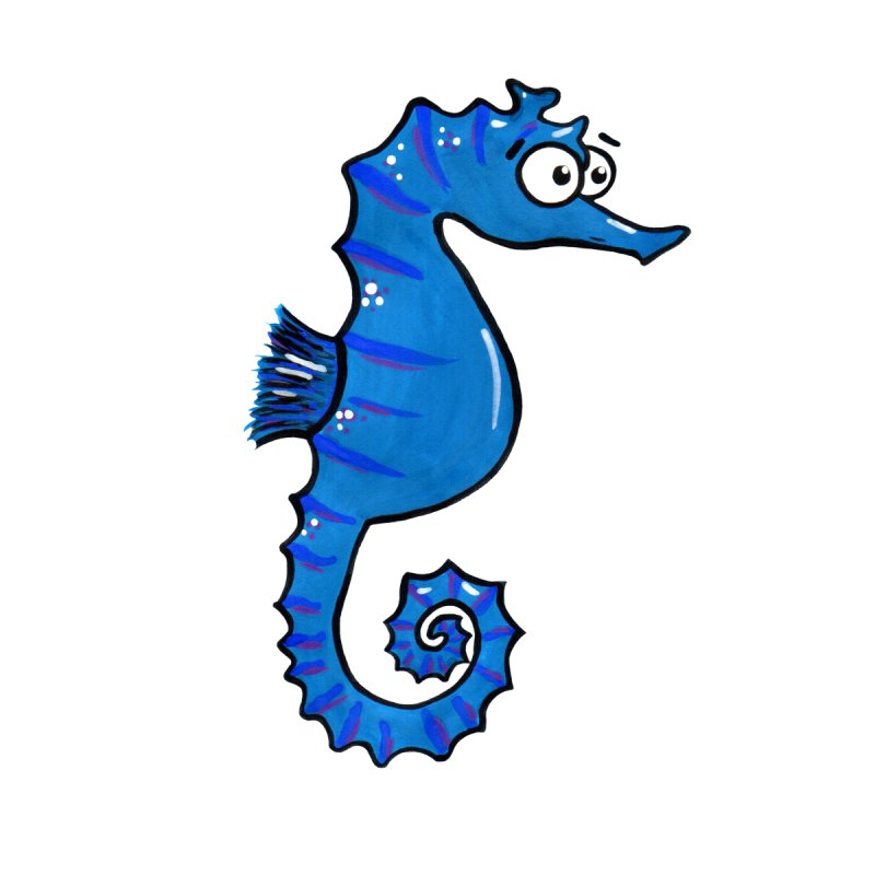 Granddad's Fish Tank - Seymour The Seahorse by Adrienne Body